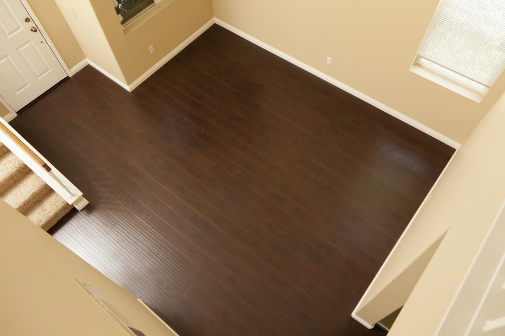color dark brown wood floor